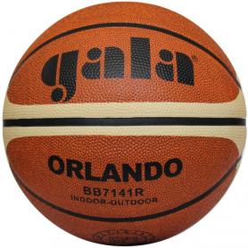 Míč Basket ORLANDO BB7141R, hnědý