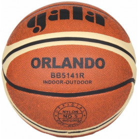 Míč Basket GALA ORLANDO BB5141R, hnědá