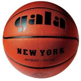 Míč basket GALA NEW YORK 6021S, hnědá