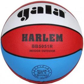 Míč basket GALA HARLEM 5051R, červeno/bílo/modrý