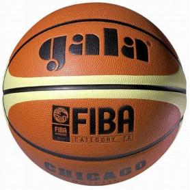 Míč basket GALA CHICAGO BB5011C vel.5, hnědý s pruhy