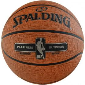 Basketbalová lopta Spalding NBA Silver Outdoor 83569Z, veľkosť 6