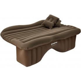 Nafukovací matrace do auta KING CAMP Backseat - hnědá