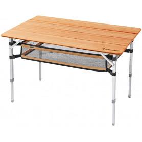 Kemping stůl KING CAMP Bamboo 100 x 65 cm