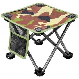 Kempingová skládací židlička KING CAMP - zelená