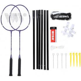 Sada raket na badminton WISH Alumtec 4466, fialová