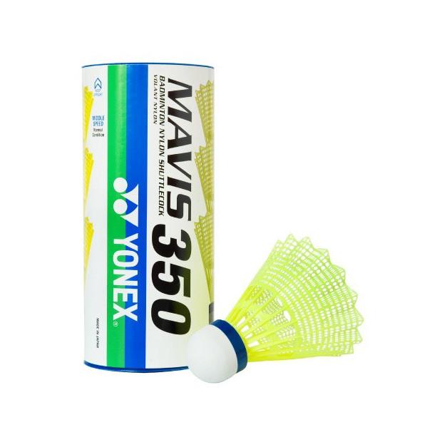 Badmintonové košíky Yonex Mavis 350 (3ks) - žlté