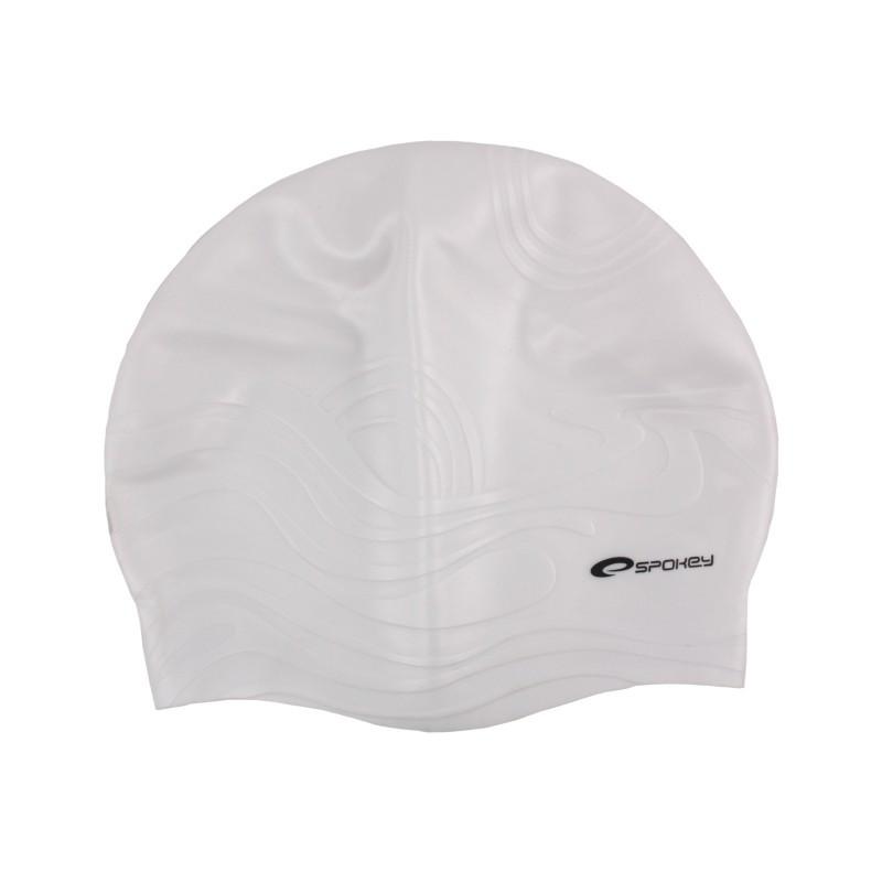 Plavecká čepice Spokey SHOAL bílá