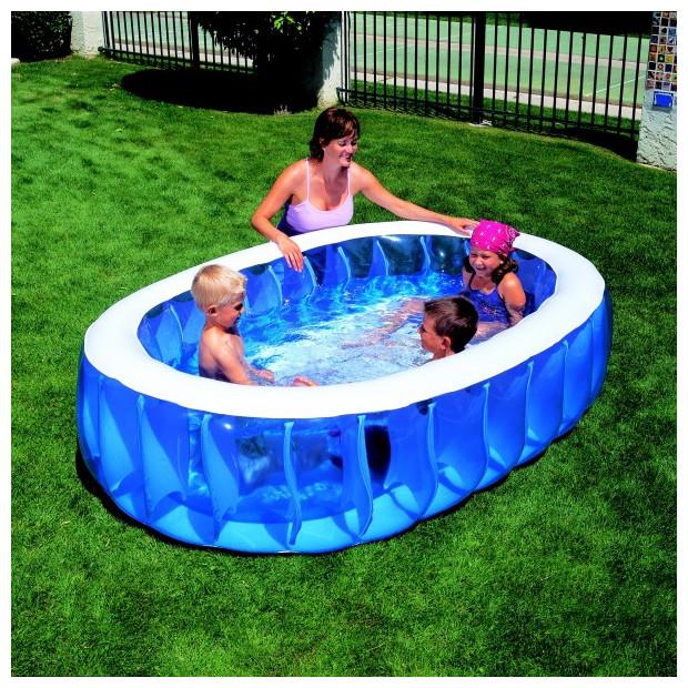 Nafukovací bazén BESTWAY Elliptic 229 x 152 cm
